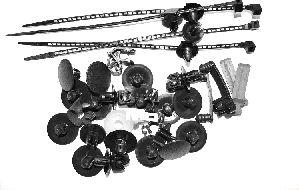 Kit de montage, choc avant - VAN WEZEL - 1831795