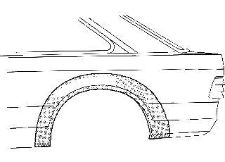 Panneau latéral - VWA - 88VWA1854148