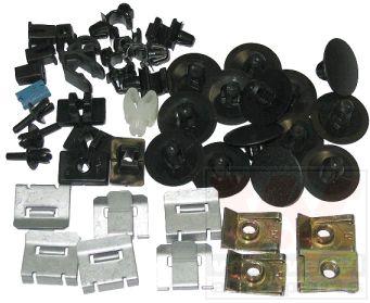 Kit de montage, choc avant - VAN WEZEL - 1854795