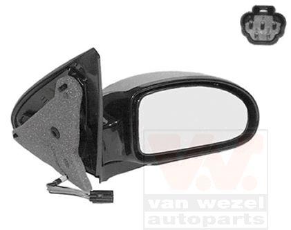 Rétroviseur extérieur - VAN WEZEL - 1858818