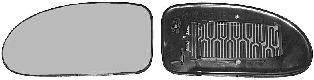 Verre de rétroviseur, rétroviseur extérieur - VAN WEZEL - 1858838