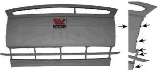 Pare-chocs - VWA - 88VWA1865568