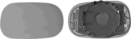 Verre de rétroviseur, rétroviseur extérieur - VAN WEZEL - 1865839