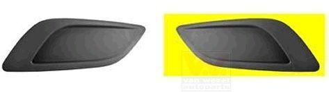 Grille de ventilation, pare-chocs - VAN WEZEL - 1866591