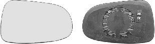 Verre de rétroviseur, rétroviseur extérieur - VAN WEZEL - 1867831