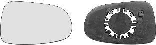 Verre de rétroviseur, rétroviseur extérieur - VAN WEZEL - 1867838