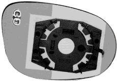 Verre de rétroviseur, rétroviseur extérieur - VWA - 88VWA1873838