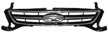 Grille de radiateur - VAN WEZEL - 1882514