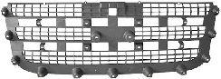 Grille de radiateur - VAN WEZEL - 1985514