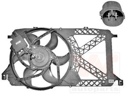 Ventilateur, refroidissement du moteur - VAN WEZEL - 1985746