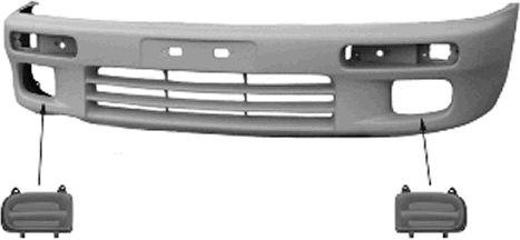 Pare-chocs - VAN WEZEL - 2720574