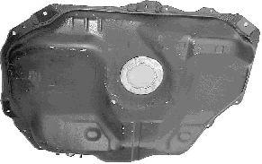 Réservoir de carburant - VAN WEZEL - 2732081
