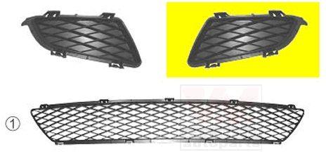 Grille de ventilation, pare-chocs - VAN WEZEL - 2754591