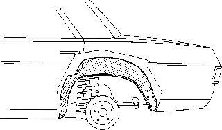 Passage de roue - VWA - 88VWA3003.47