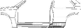 Panneau latéral - VWA - 88VWA3008142