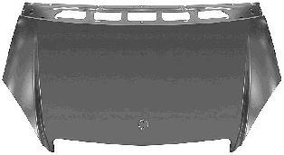 Capot-moteur - VAN WEZEL - 3017660