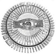 Embrayage, ventilateur de radiateur - VAN WEZEL - 3020739