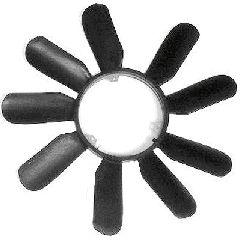 Roue du souffleur, refroidissement  du moteur - VAN WEZEL - 3020743