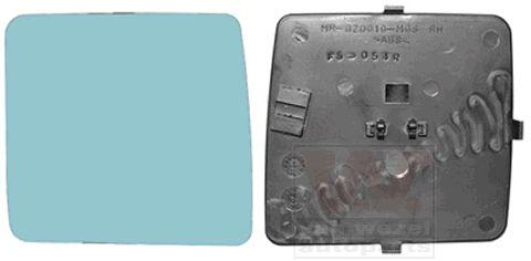 Verre de rétroviseur, rétroviseur extérieur - VAN WEZEL - 3024832