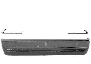 Baguette et bande protectrice, pare-chocs - VAN WEZEL - 3025581