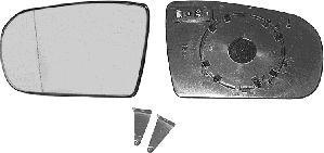 Verre de rétroviseur, rétroviseur extérieur - VAN WEZEL - 3029861