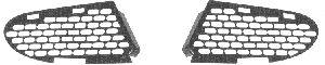 Grille de ventilation, pare-chocs - VWA - 88VWA3030592