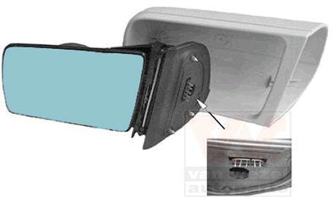 Rétroviseur extérieur - VAN WEZEL - 3030807