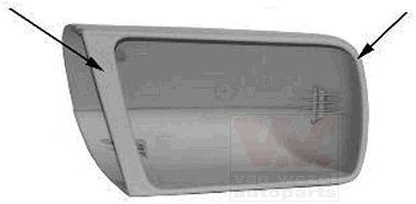 Revêtement, rétroviseur extérieur - VAN WEZEL - 3030842