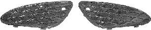 Grille de ventilation, pare-chocs - VAN WEZEL - 3041591