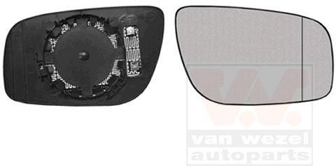 Verre de rétroviseur, rétroviseur extérieur - VAN WEZEL - 3043838