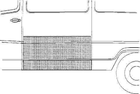 Panneau latéral - VAN WEZEL - 3070107