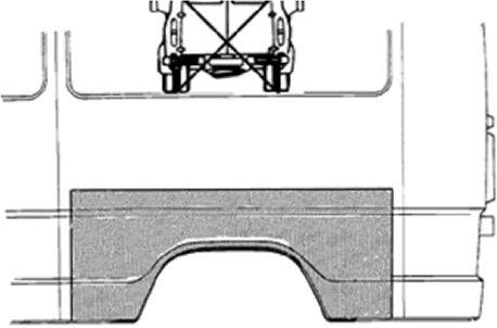Panneau latéral - VAN WEZEL - 3070148