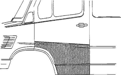 Porte, Carrosserie - VAN WEZEL - 3070177