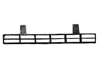 Grille de ventilation, pare-chocs - VAN WEZEL - 3071590