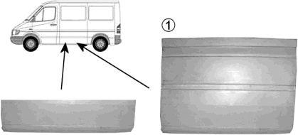 Panneau latéral - VAN WEZEL - 3075109