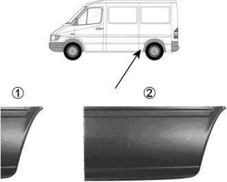 Panneau latéral - VAN WEZEL - 3075140