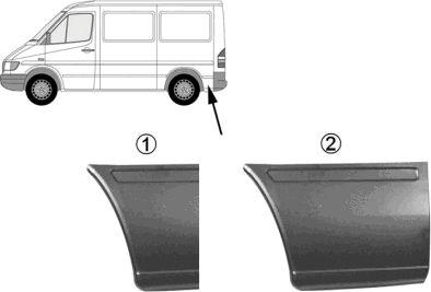 Panneau latéral - VWA - 88VWA3075144