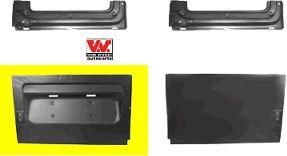 Porte arrière - VAN WEZEL - 3075149