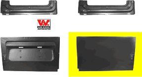 Porte arrière - VAN WEZEL - 3075150