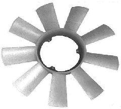 Roue du souffleur, refroidissement  du moteur - VAN WEZEL - 3075741