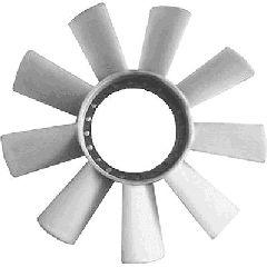Roue du souffleur, refroidissement  du moteur - VAN WEZEL - 3075743