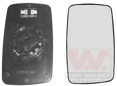 Verre de rétroviseur, rétroviseur extérieur - VAN WEZEL - 3075862