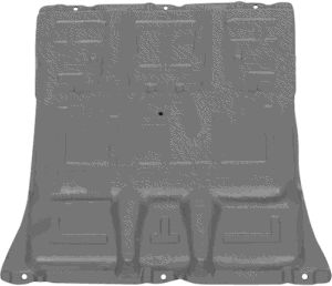 Insonoristaion du compartiment moteur - VAN WEZEL - 3077701