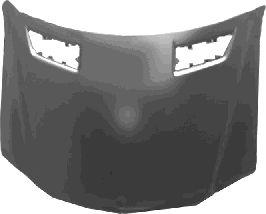 Capot-moteur - VAN WEZEL - 3087660