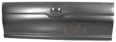 Couvercle de coffre à bagages/de compartiment de chargement - VAN WEZEL - 3294600