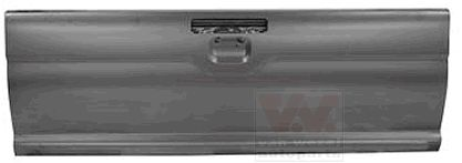 Couvercle de coffre à bagages/de compartiment de chargement - VAN WEZEL - 3294601