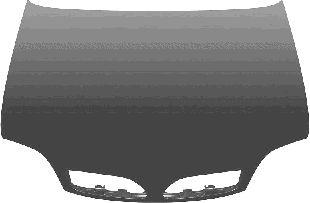 Capot-moteur - VAN WEZEL - 3306660