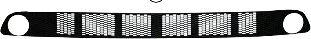 Grille de ventilation, pare-chocs - VAN WEZEL - 3323599