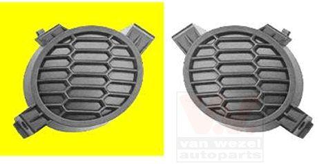 Grille de ventilation, pare-chocs - VAN WEZEL - 3329592