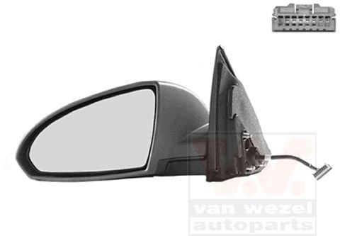 Rétroviseur extérieur - VAN WEZEL - 3352817